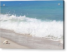 Bimini Wave Sequence 5 Acrylic Print