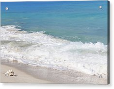 Bimini Wave Sequence 6 Acrylic Print