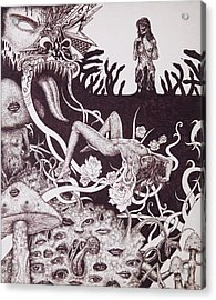 Binah Qlippoth Acrylic Print