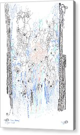 Bingham Fluid Or Paste Acrylic Print