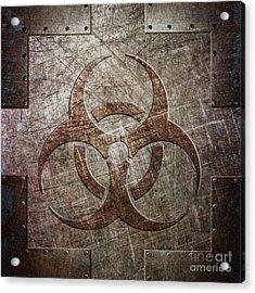 Bio Hazard Acrylic Print