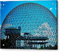 Biosphere Montreal Acrylic Print by Juergen Weiss