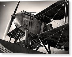 Biplane Acrylic Print