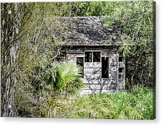 Bird Blind At Frontera Audubon Acrylic Print