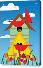Bird Condo Acrylic Print