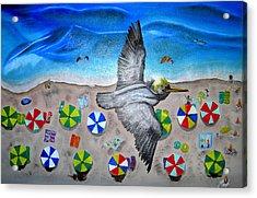 Bird Acrylic Print by Kathern Welsh