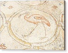 Bird Mosaic Acrylic Print by Tal Bedrack