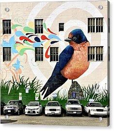 Bird Mural Acrylic Print