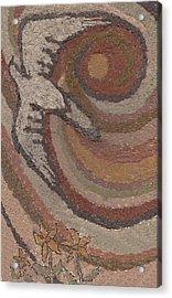 Bird Of Desert Sand Acrylic Print by Dawn Senior-Trask