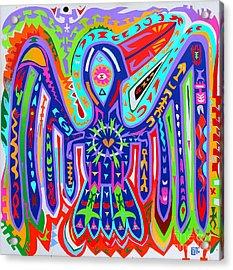 Bird Of Paradise Acrylic Print by Ed Tajchman