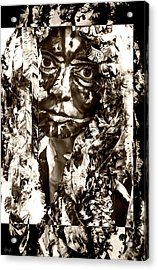 Bird Woman Acrylic Print by Kipleigh Brown
