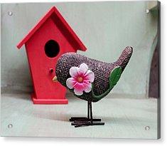Birdie Acrylic Print