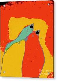 Birdies - Q11a Acrylic Print