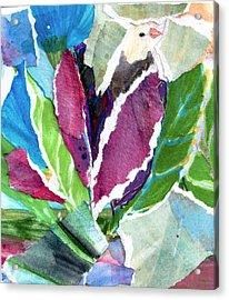 Birdnflowers Acrylic Print