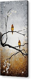 Birds Acrylic Print by Mike Irwin
