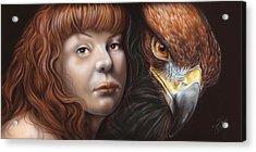 Birds Of Prey - Golden Eagle Acrylic Print