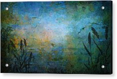 Birds Over The Lake Acrylic Print