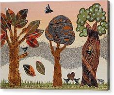 Birds Refuge Acrylic Print