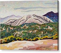 Birdseye Landscape #4 Acrylic Print by Dale Beckman