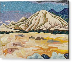 Birdseye Landscape #5 Acrylic Print by Dale Beckman