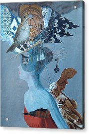 Birdwoman Acrylic Print