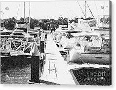 Birkenhead Point Marina Acrylic Print