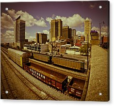 Birmingham At Work Acrylic Print