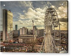 Birmingham Christmas Craft Fair Acrylic Print