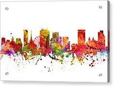 Birmingham Cityscape 08 Acrylic Print