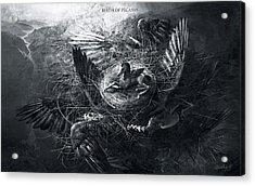 Birth Of Pegasus Acrylic Print
