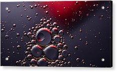 Birth Of The Red Mercury Sun Acrylic Print