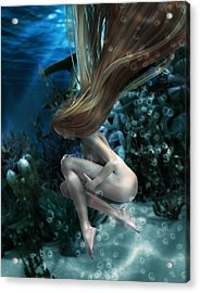 Birth Of Venus Acrylic Print