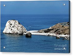Birth Place Of Aphrodite Acrylic Print by John Rizzuto