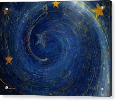 Birthed In Stars Acrylic Print