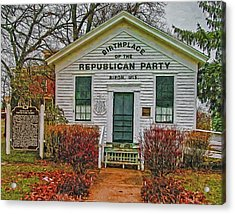 Birthplace Republican Party Acrylic Print