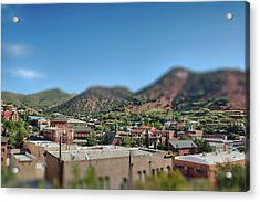 Acrylic Print featuring the photograph Bisbee Arizona by Dan McManus