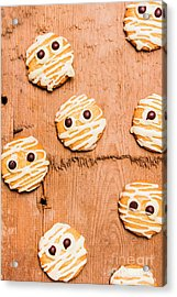 Biscuit Gathering Of Monster Mummies Acrylic Print