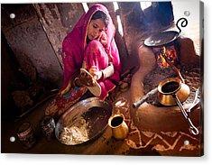Bishnoi Kitchen Acrylic Print