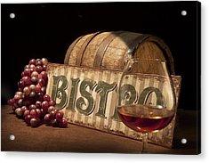Bistro Still Life II Acrylic Print by Tom Mc Nemar