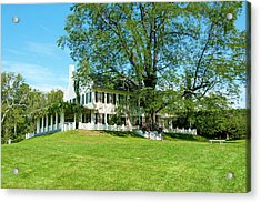 Acrylic Print featuring the photograph Bit O Nh History by Greg Fortier