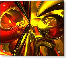 Bittersweet Abstract Acrylic Print by Alexander Butler