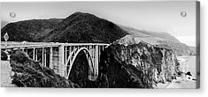 Bixby Bridge - Big Sur - California Acrylic Print