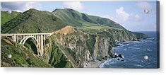Bixby Bridge Over Bixby Creek Acrylic Print