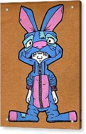 Bizarre Bunny Mascot Acrylic Print by Bizarre Bunny