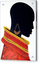 Black And Red - Original Artwork Acrylic Print