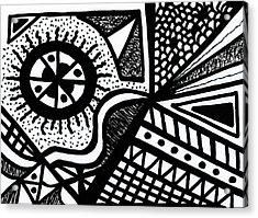 Black And White 14 Acrylic Print