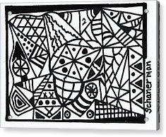 Black And White 2 Acrylic Print