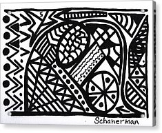 Black And White 5 Acrylic Print