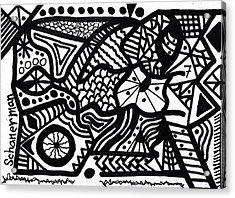 Black And White 7 Acrylic Print