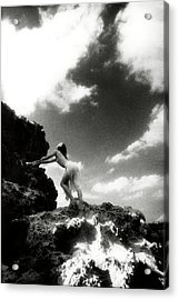 Black And White Nude 014 Acrylic Print